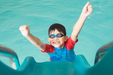 Ανταγωνισμός ανάμεσα σε νεαρούς κολυμβητές