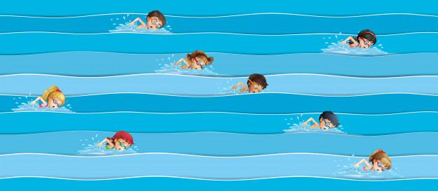 κολύμβηση ελεύθεροo