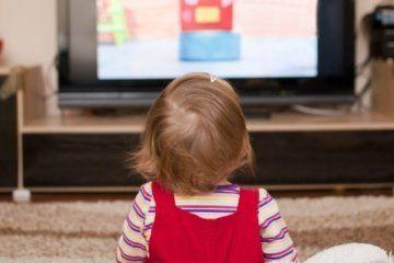 παιδιά, τηλεόραση