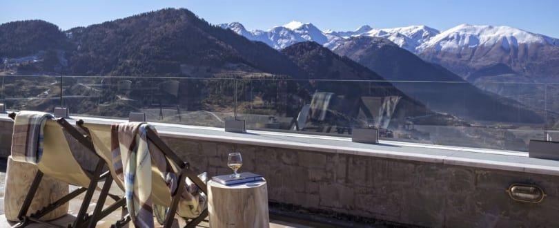 Η θέα από το ξενοδοχείο Grand Forest Metsovo